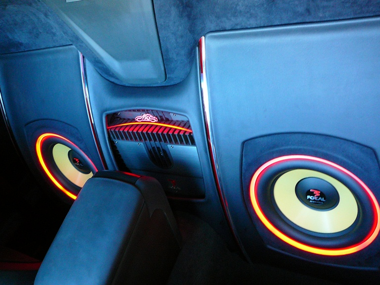 Holden Commodore UTE -Custom installed Focal Audio system