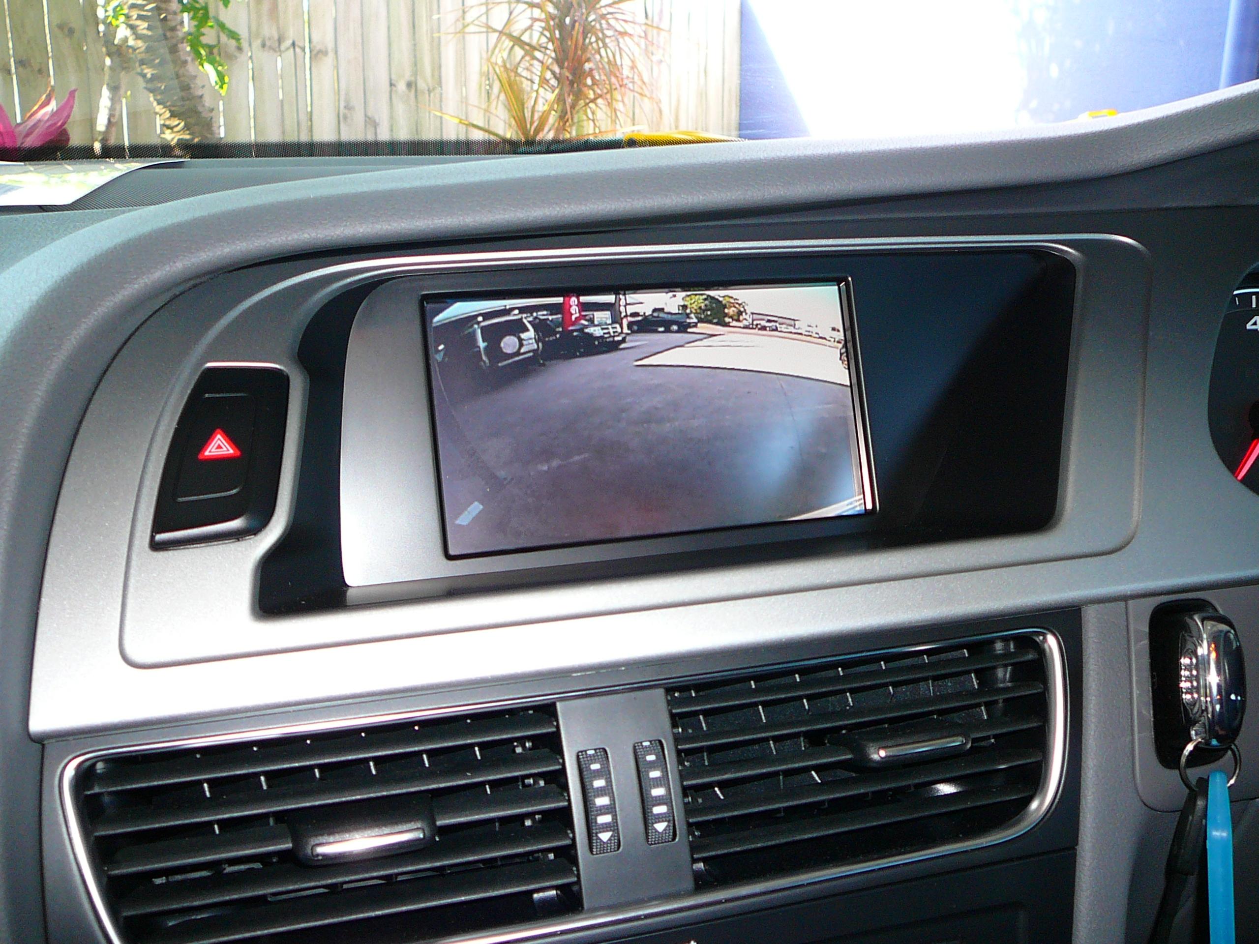 Audi A4 Navigation & Reverse Camera – Maroochy Car Sound