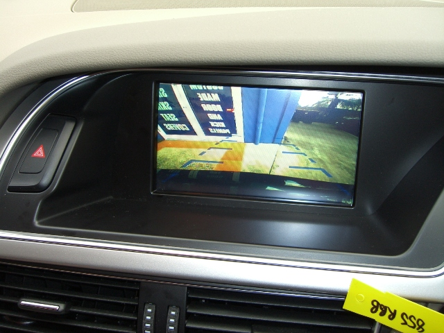 Audi A5, Touch screen GPS Navigation and reverse camera