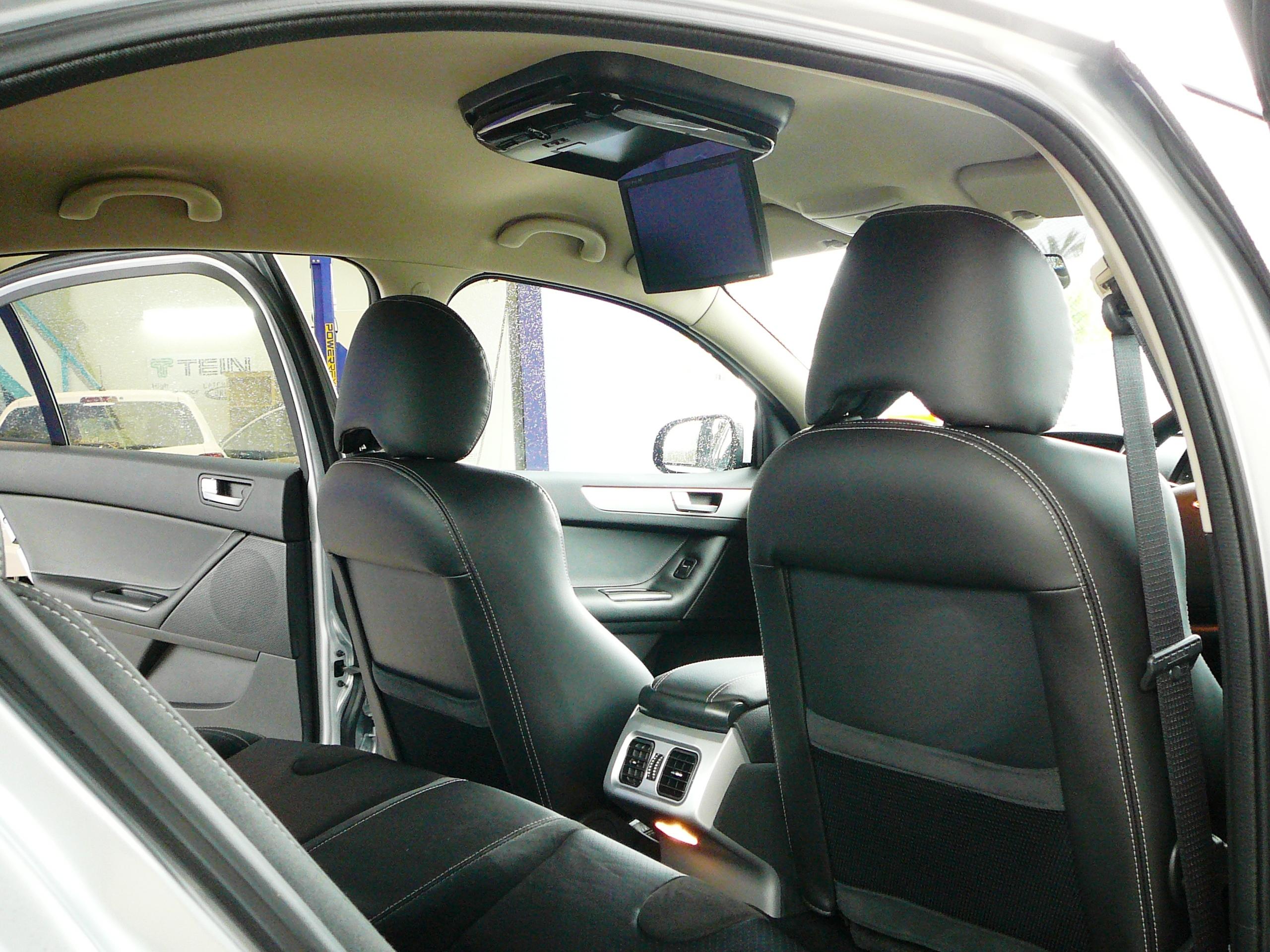 Ford Falcon FPV GT Alpine DVD roof screen installation