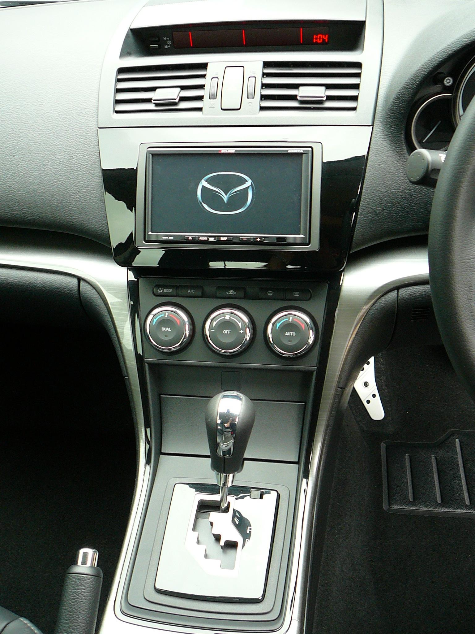 Mazda 6 2011, Eclipse GPS Navigation solution