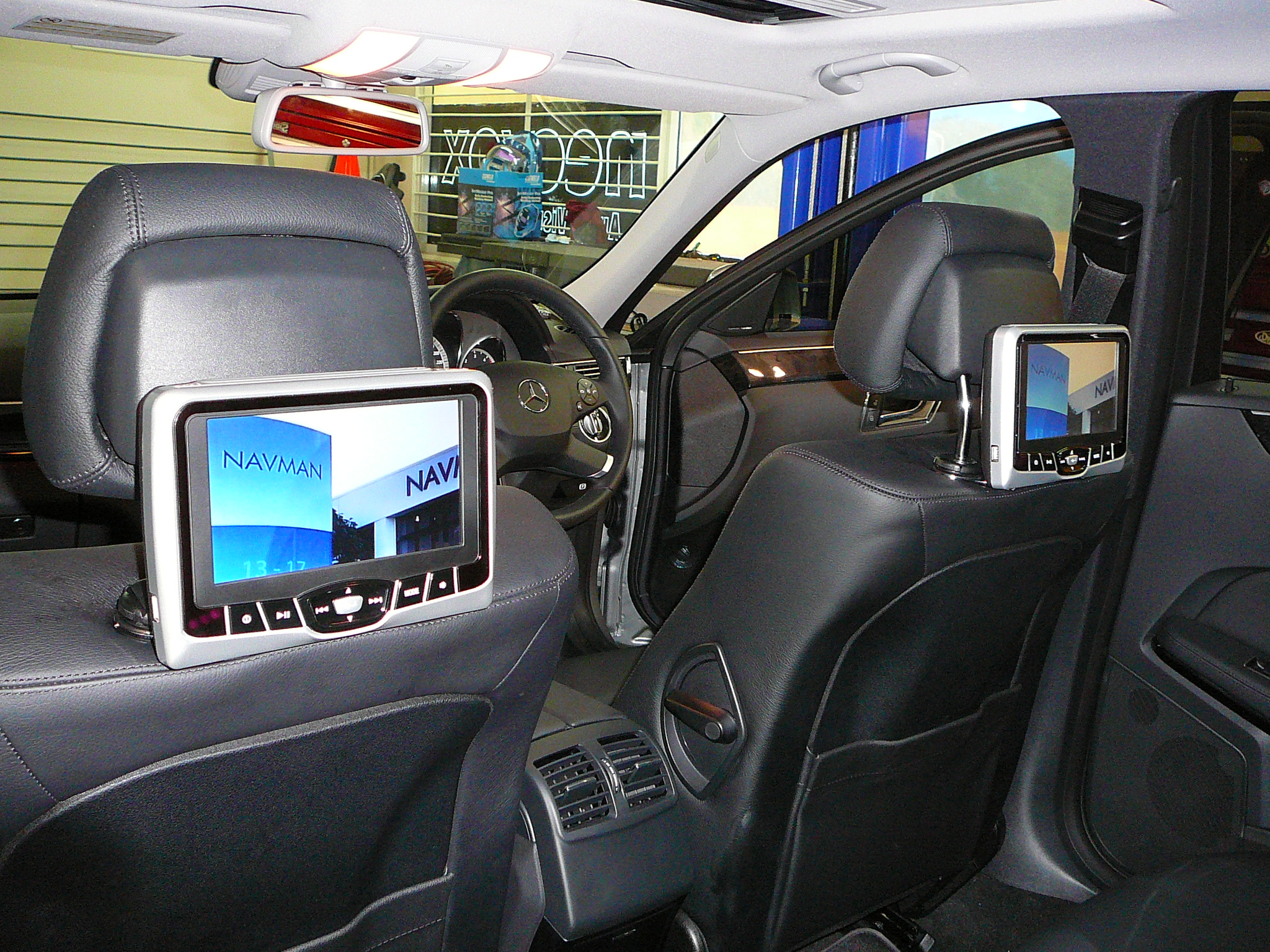 Rosen AV-7700 made to suit Mercedes Benz Active Style Head Rests.