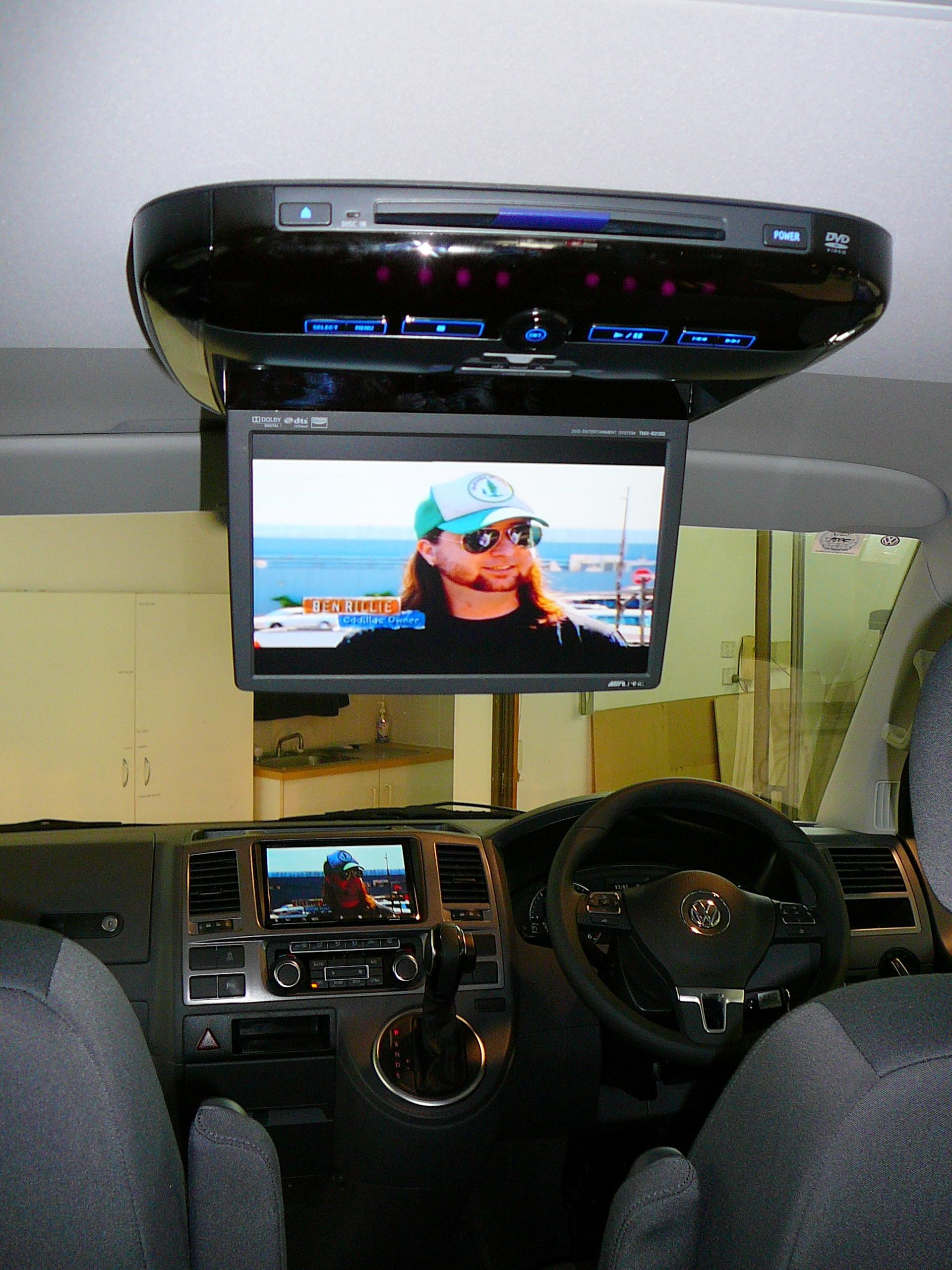 Volkswagen Multivan 2012, Alpine INE-Z928Ei GPS Navigation & Reverse Camera