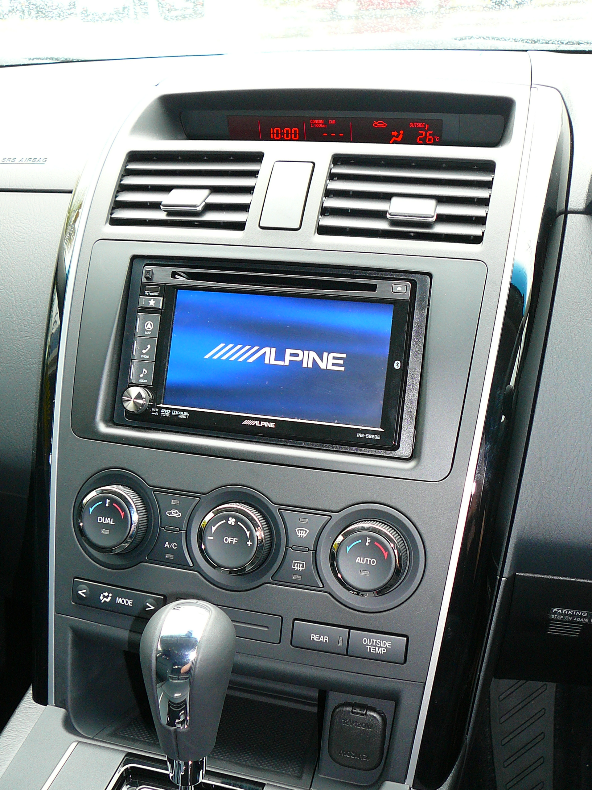 Mazda CX-9 Alpine INE-S920Ei Navigation and Reverse Camera System