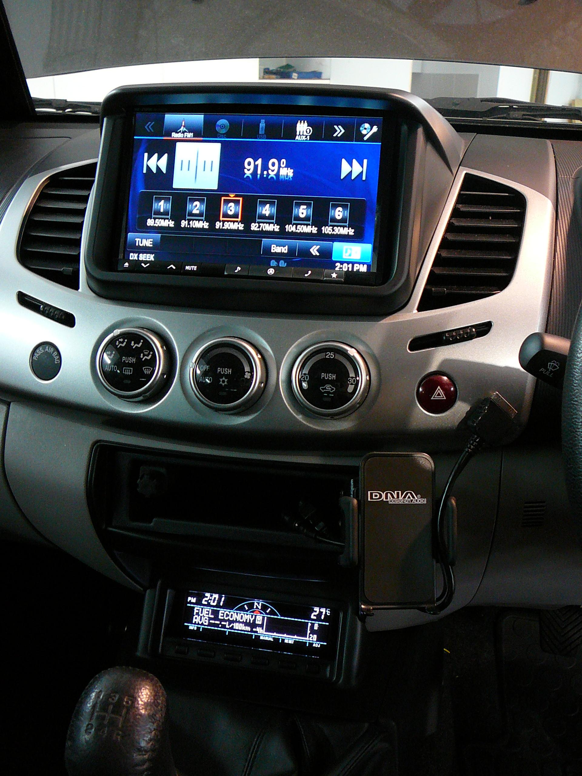 Mitsubishi Triton 2012, Custom Installation – Focal Utopia Kit No7
