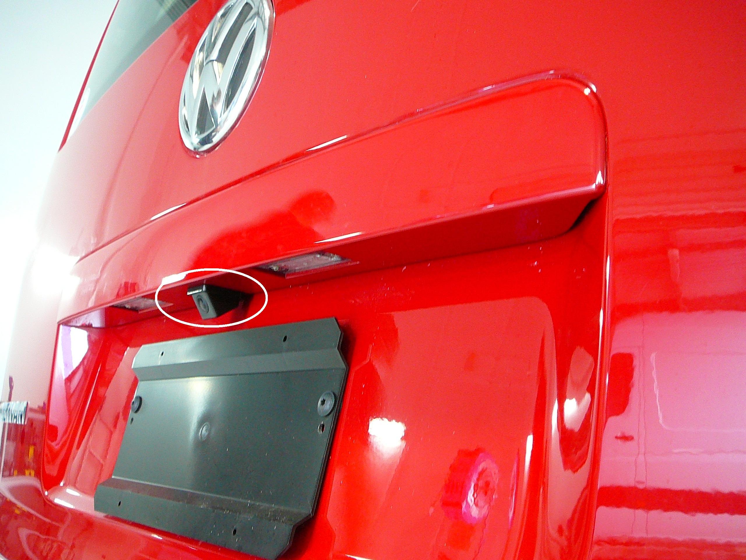 Volkswagen Multivan 2013, Reverse Camera & Mirror Monitor