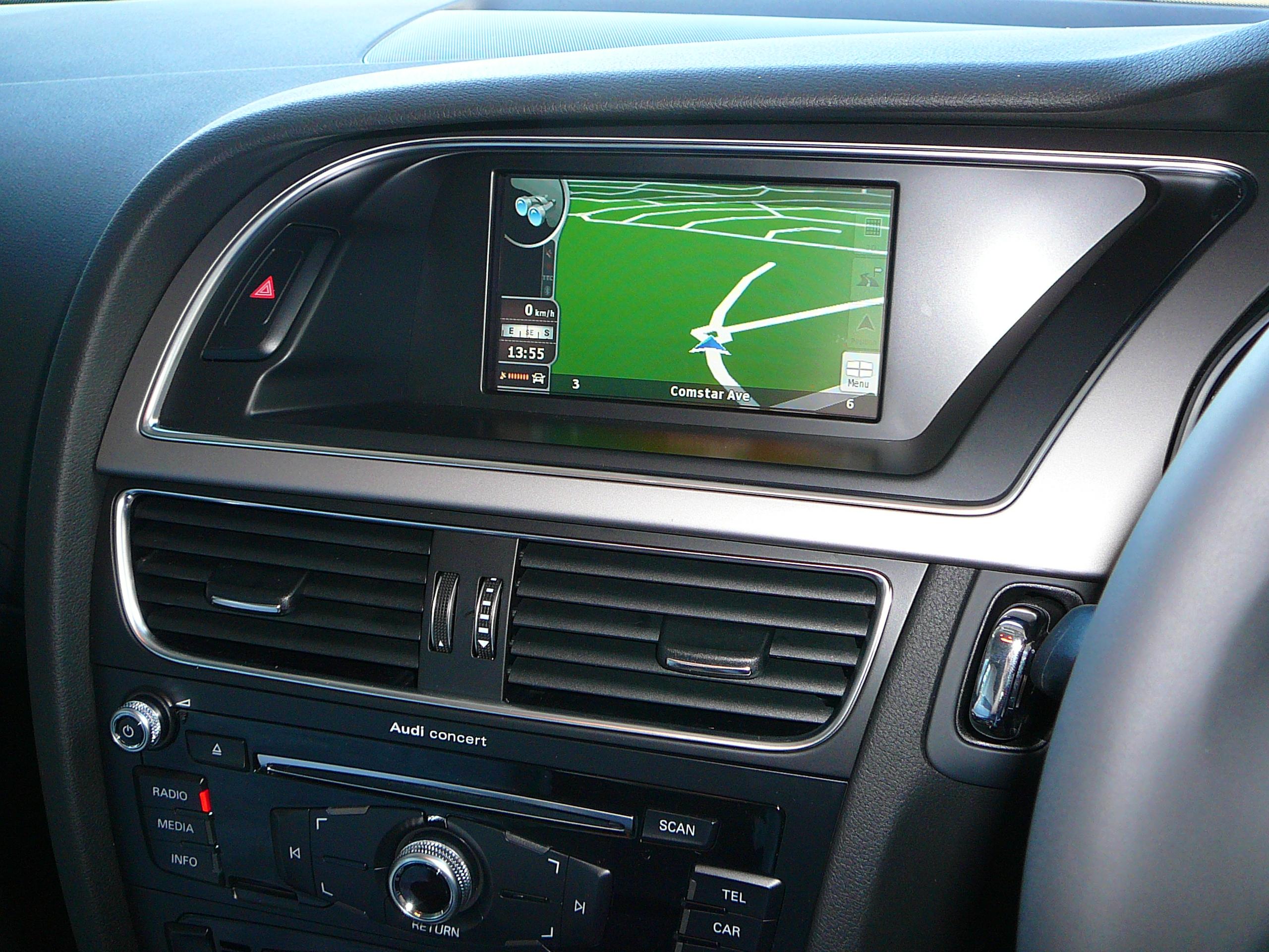 Audi A5 2013 Sportback, Touch Screen Navigation & Camera