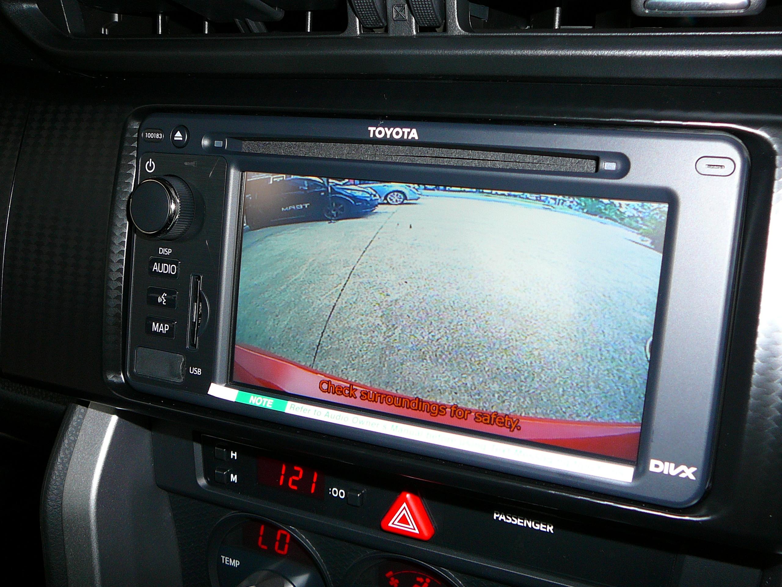 Toyota 86 GTS, Reverse Camera Installation using the Factory Toyota Screen