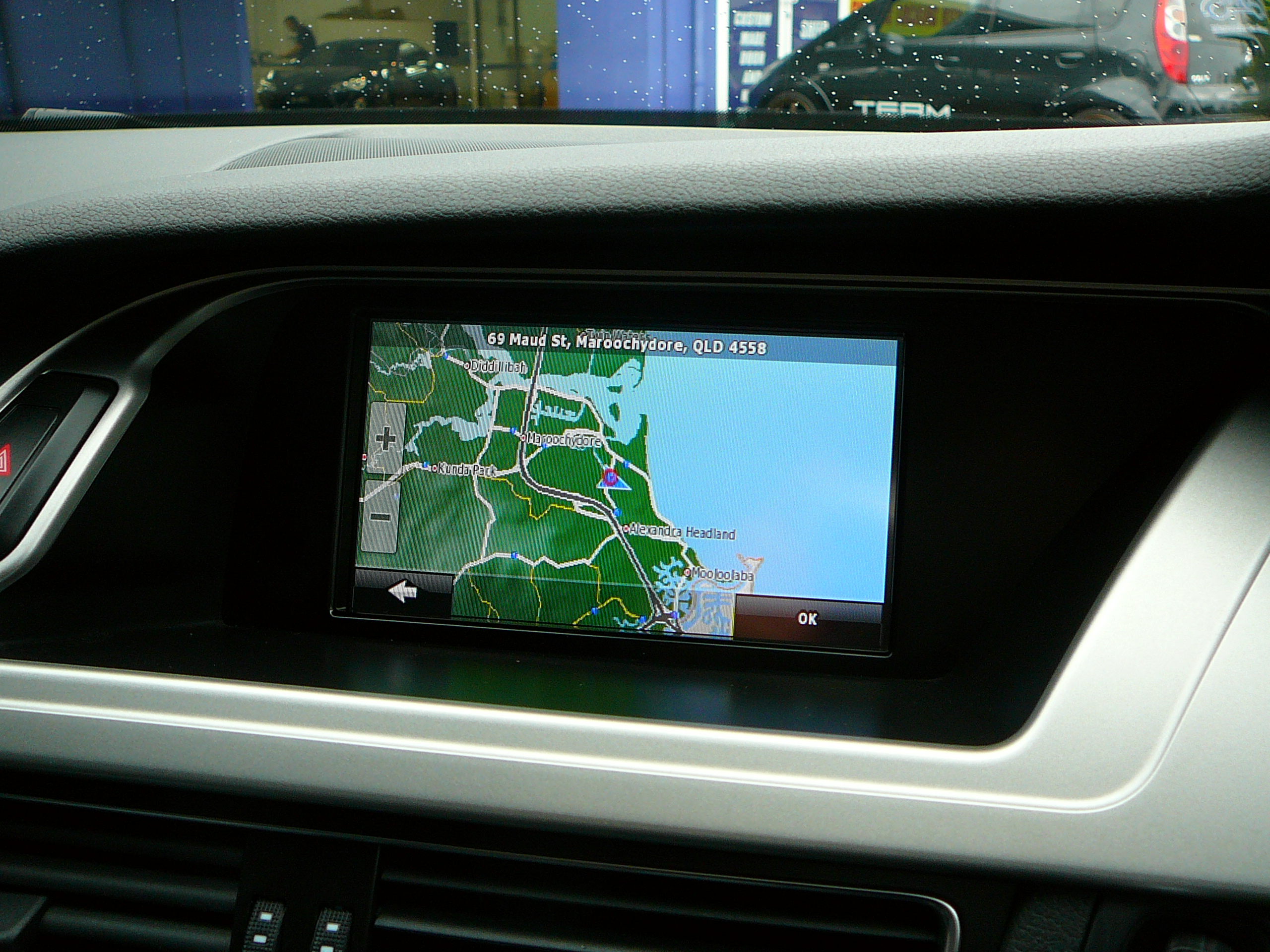 Audi A4 2011, GPS Navigation Touch Screen – Uses Factory Audi Screen