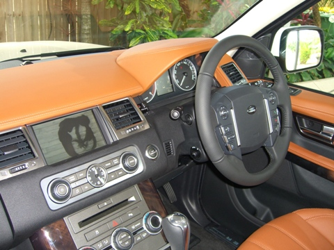 Range Rover Sport 2010 or Land Rover Discovery 4 add a reverse camera or Video image on factory screen