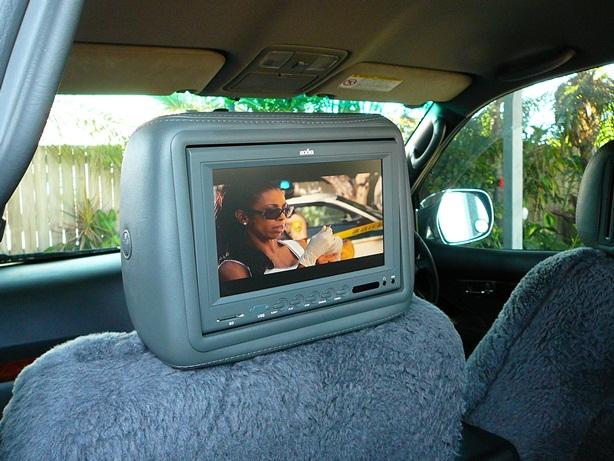 Toyota Prado VX, Axis 8 inch Rear seat DVD system