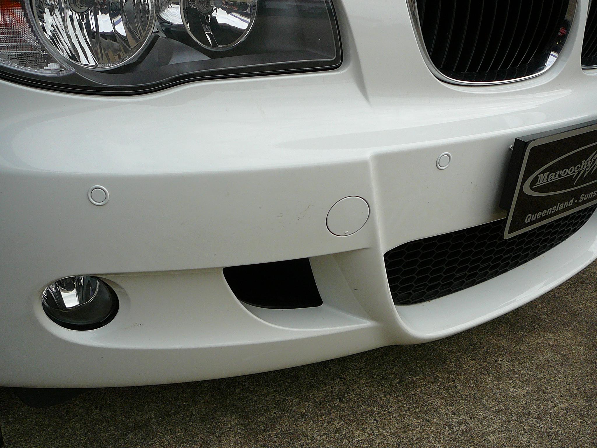 BMW 318d Front Parking Sensors – Maroochy Car Sound