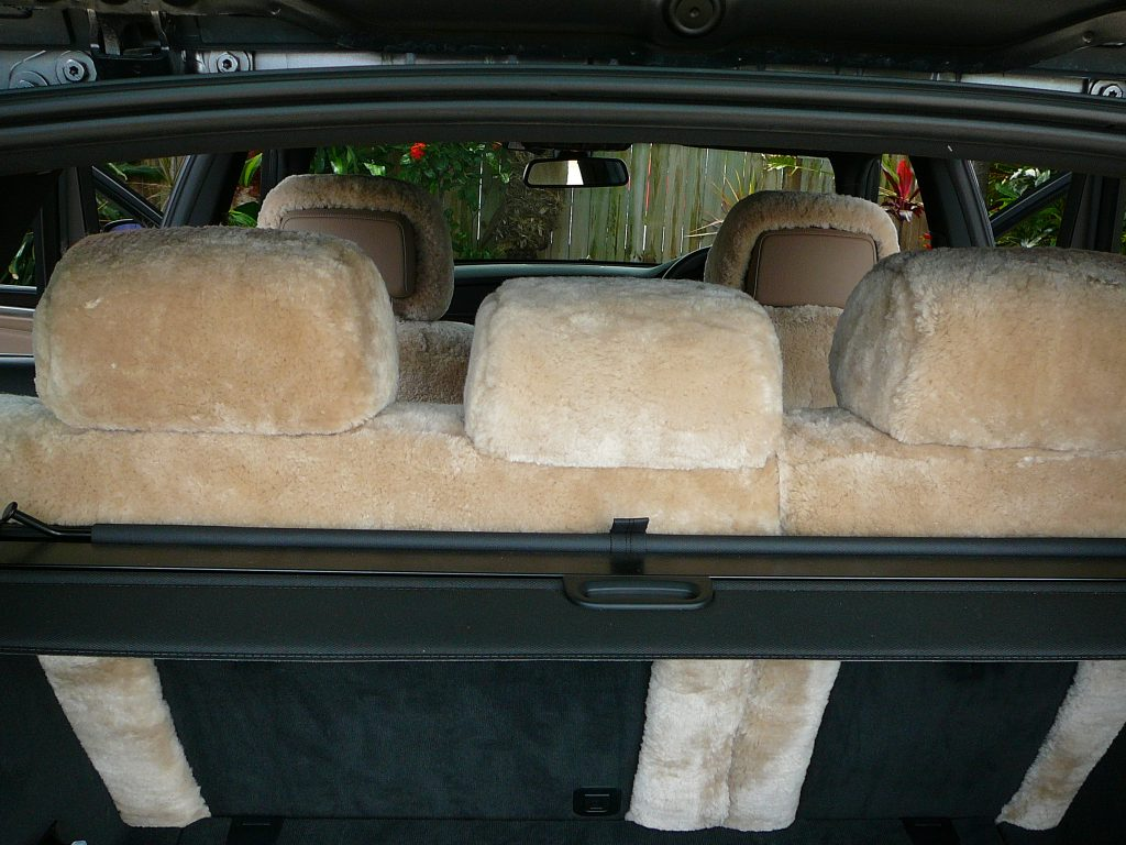 Bmw X5 Front Amp Rear Sheepskin Seatcovers Maroochy Car Sound