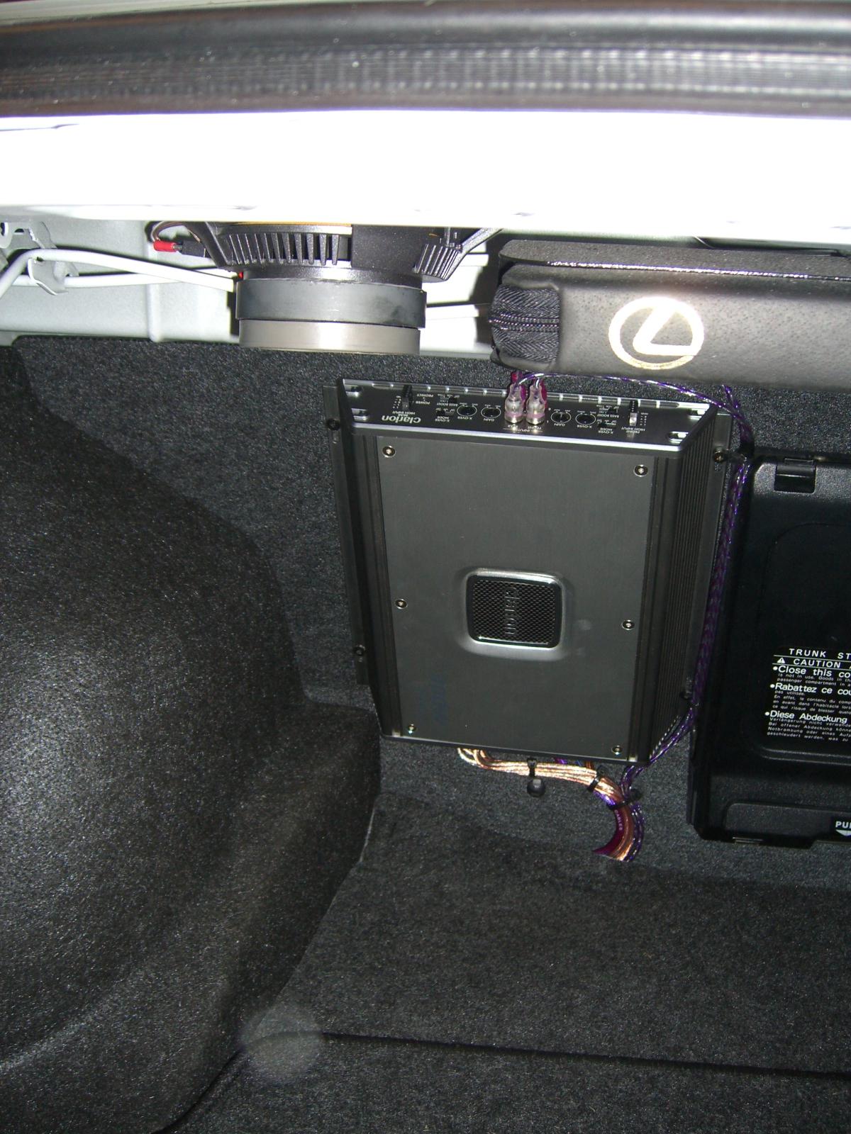 Lexus Is200 Cd Radio Bluetooth Amplifier Upgrade  U2013 Maroochy Car Sound