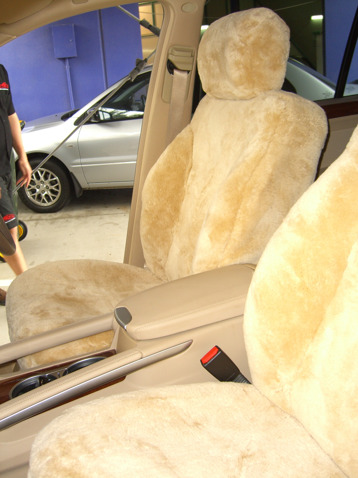 Mercedes Gl Sheepskin Seat Covers Maroochy Car Sound