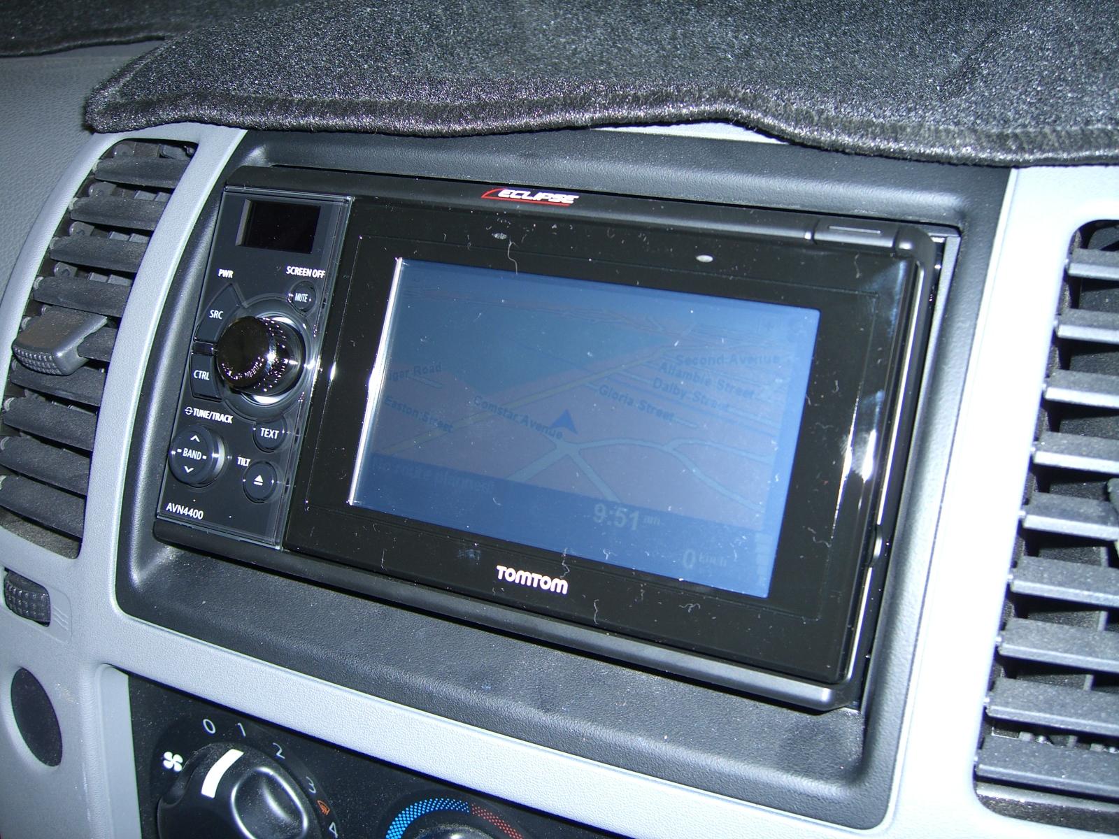 Nissan Navara D40 Eclipse DVD GPS Navigation Install