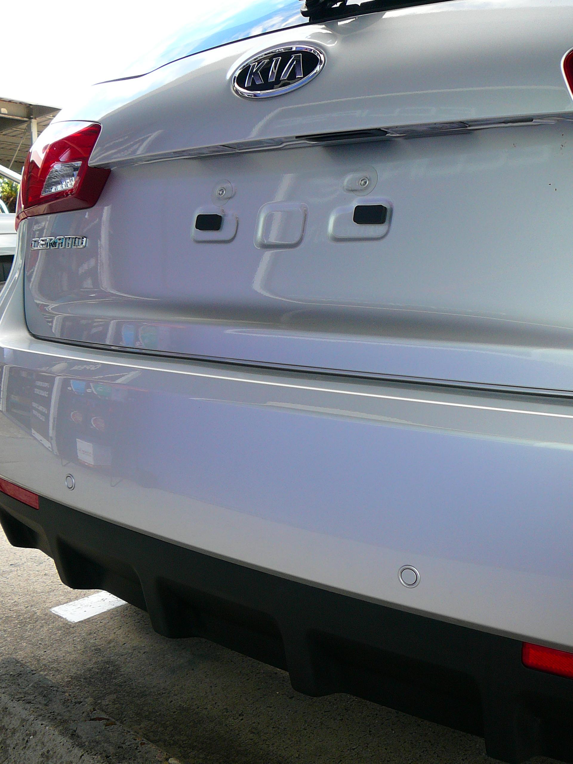 Kia Cerato 2013 Reverse Sensors Maroochy Car Sound