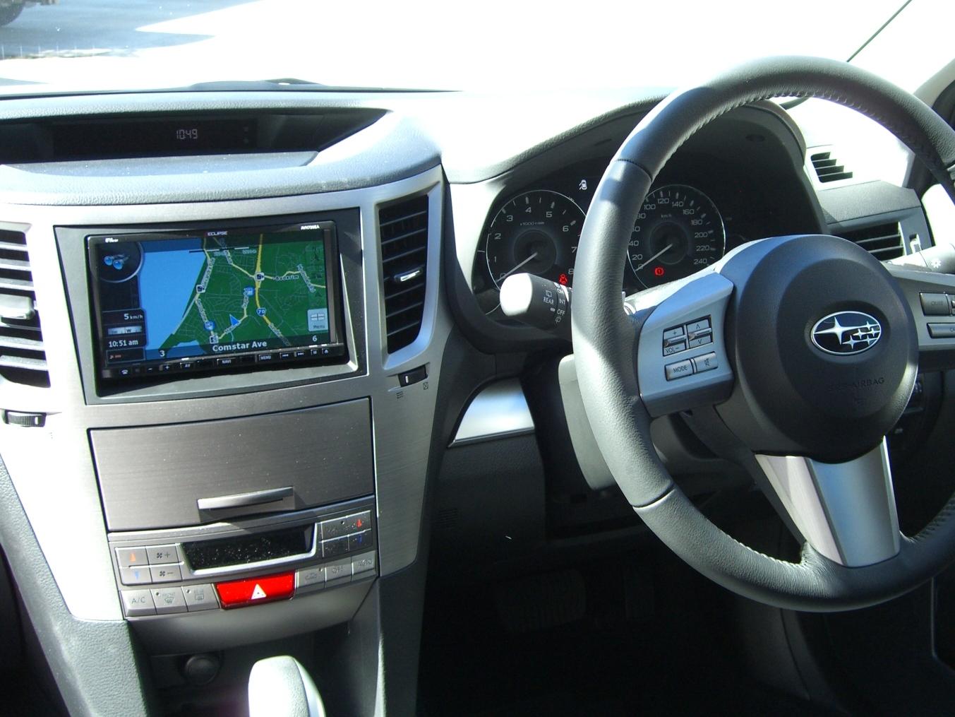 Subaru Outback 2010 Eclipse Gps Navigation Reverse Camera