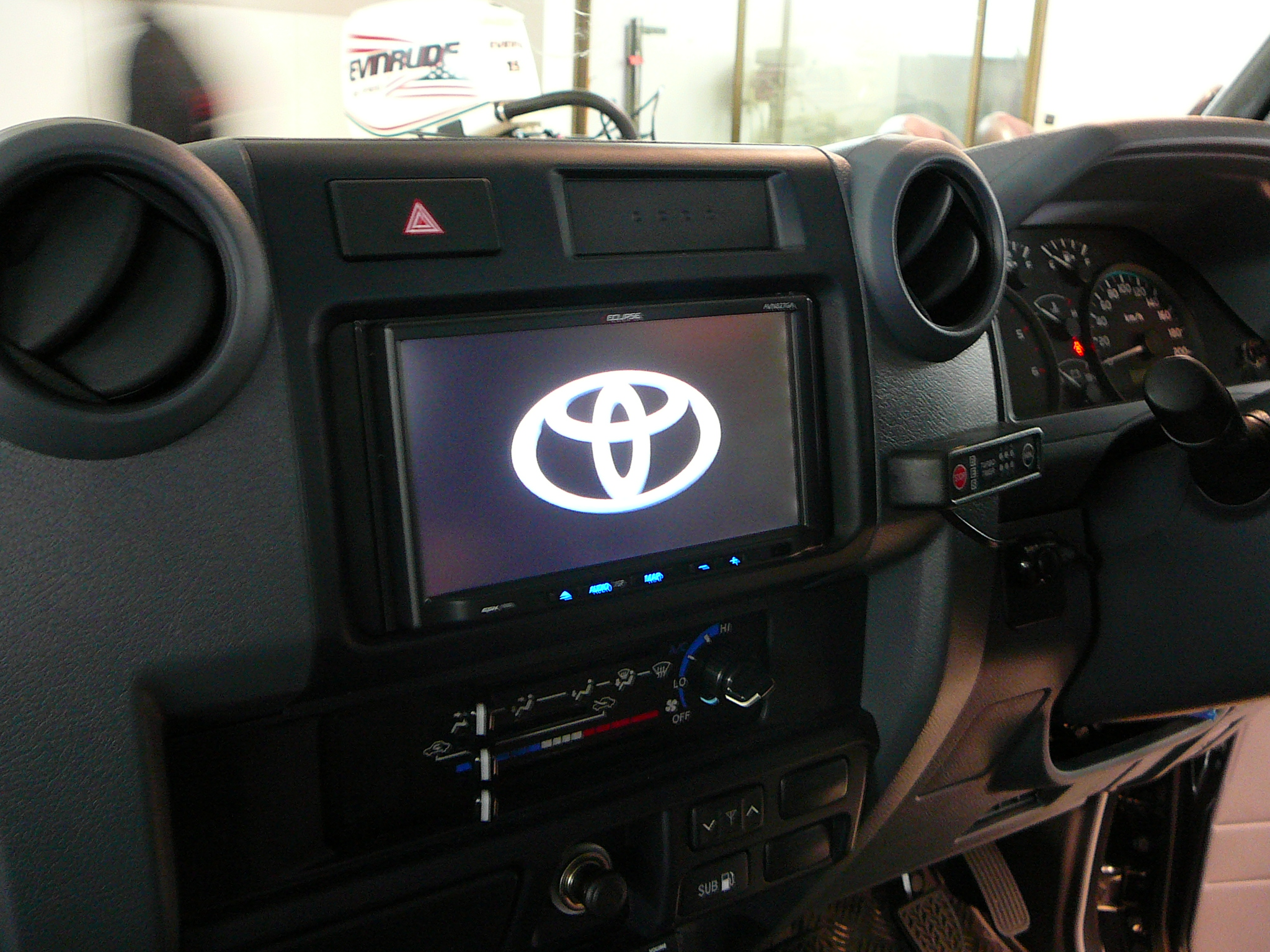 Toyota Landcruiser 70 Series, Eclipse GPS, Dual Reverse Camera
