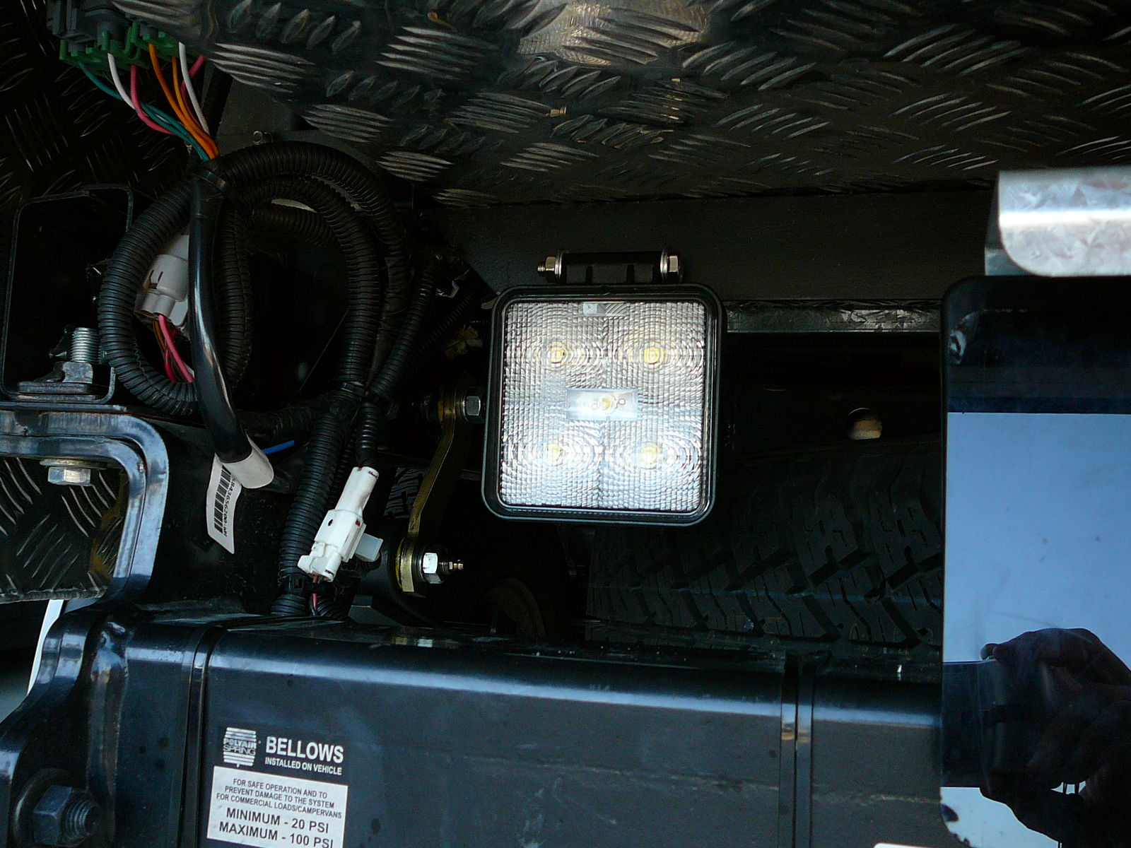 Brake Controller Installation >> Isuzu D-Max 2013, LED Reverse Light & Reverse Camera with ...