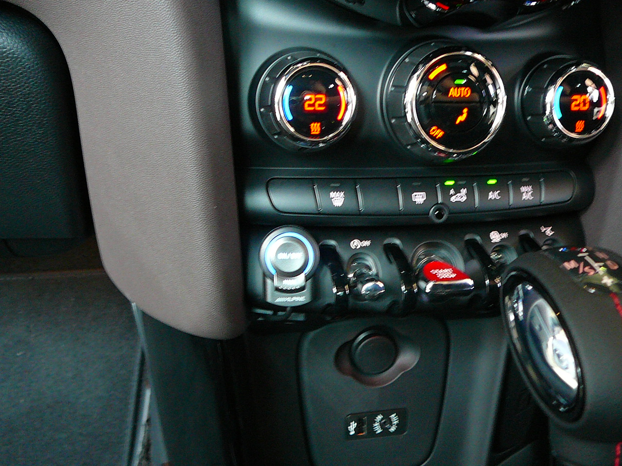 Mini Cooper 2014, Front & Rear Adjustable Parking Cameras