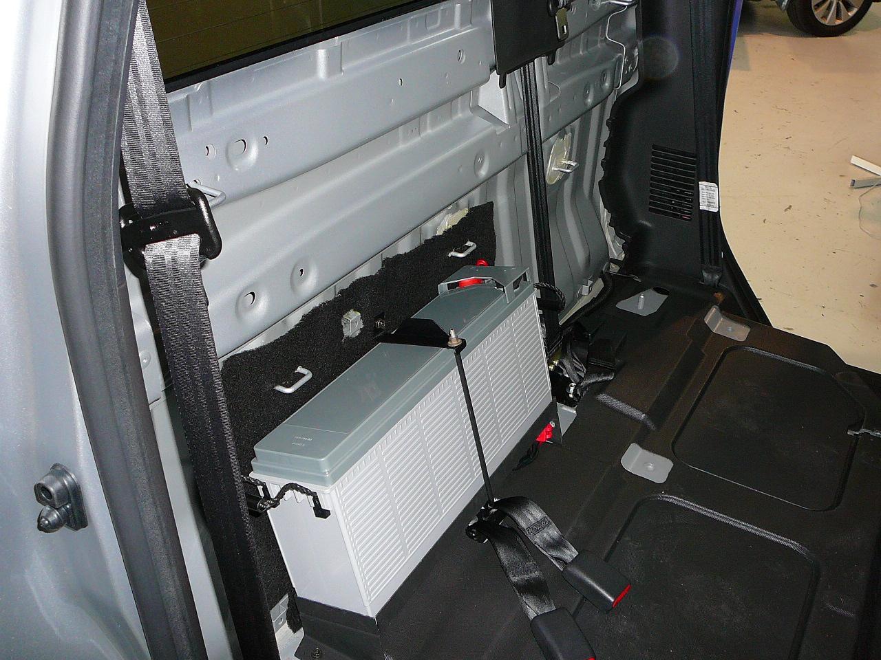 Brake Controller Installation >> Isuzu D-Max, Custom Dual Battery System & Tray – Maroochy Car Sound