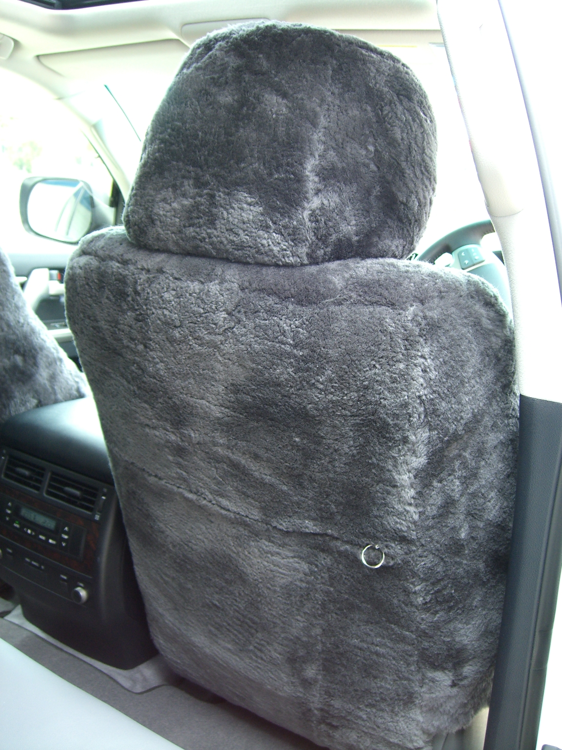 Toyota Landcruiser 200series Sheepskin Seat Covers Maroochy Car Sound