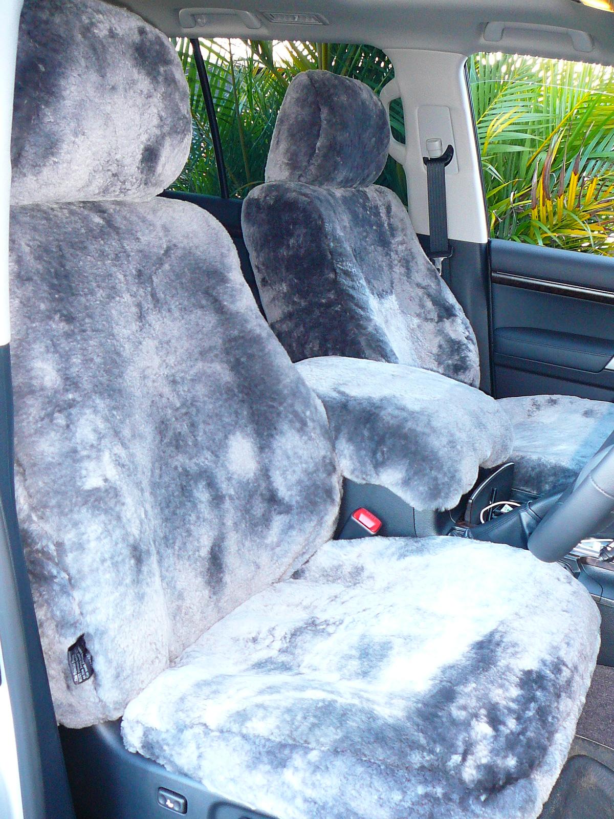 Toyota Landcruiser 200 Series Tailor Made Sheepskin Seat