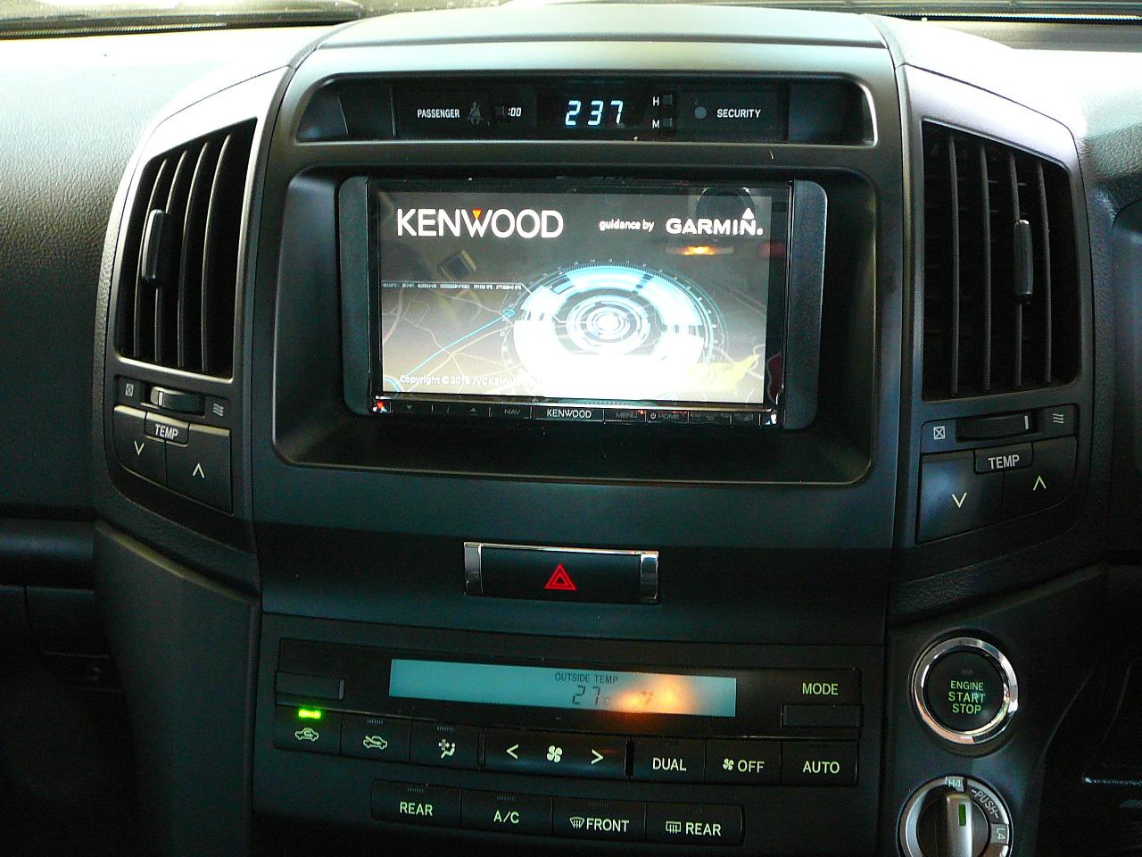 Toyota Landcruiser 200series, Kenwood GPS Navigation System