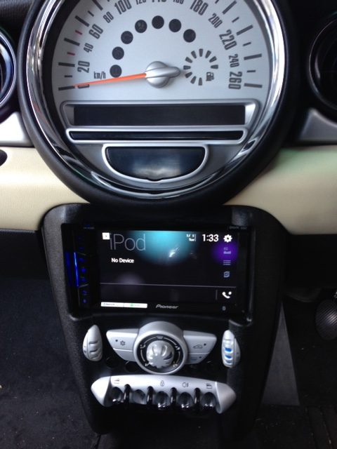 Mini Cooper R56 Stereo Upgrade with Apple Car Play or Android Auto