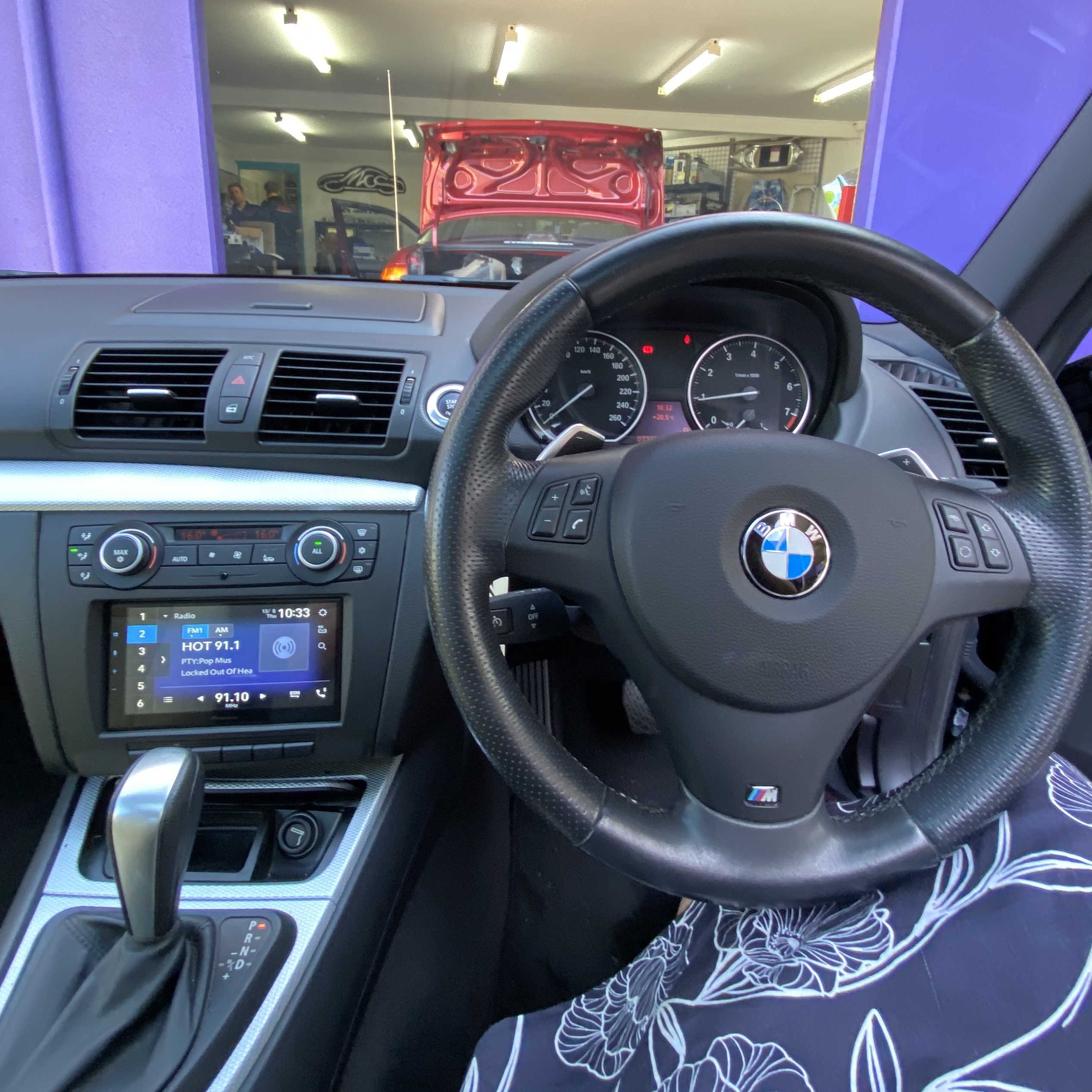 BMW 1 Series Stereo Upgrade